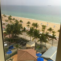 Photo taken at Courtyard Fort Lauderdale Beach by Al M. on 6/7/2012