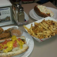 Photo taken at DK Dogs by Fred B. on 2/12/2012