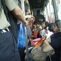 Photo taken at Transjakarta koridor 3 by Denny H. on 5/30/2012