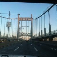 Photo taken at Robert F. Kennedy Bridge (Triborough Bridge) by Esther R. on 4/2/2012