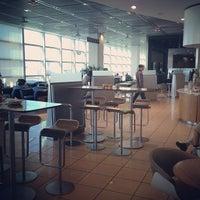 Photo taken at Lufthansa Senator Lounge C by Tatsuhiko M. on 5/14/2012