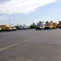 Photo taken at Penske Truck Rental by Cindy trucker girl Mallory M. on 5/16/2012