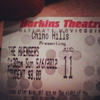 Photo taken at Harkins Theatres Chino Hills 18 by Justin S. on 5/7/2012