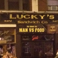 Photo taken at Lucky's Sandwich Co. by Laz on 7/5/2012