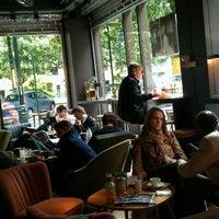 Photo taken at Café de la Presse by Cher C. on 5/12/2012