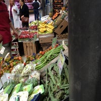 Photo taken at Mercato comunale di Piazza Wagner by Tommaso F. on 4/28/2012