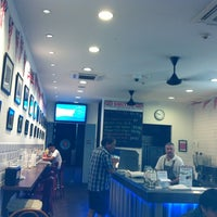 Photo taken at Smiths Authentic British Fish And Chips by Eileen on 5/3/2012