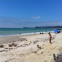 Photo taken at Doheny State Beach by Christina L. on 8/5/2012