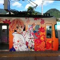 Photo taken at Sakamoto-hieizanguchi Station (OT21) by Wocchan y. on 8/25/2012