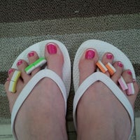Photo taken at Julie's Nails by Robin J. on 7/7/2012