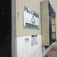 Photo taken at PRo Kansas / Miller Recycling Center by Leslie D. on 5/12/2012