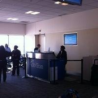 Photo taken at Gate C1 by John T. on 2/25/2012