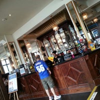 Photo taken at The Isambard Kingdom Brunel (Wetherspoon) by Chris S. on 8/18/2012
