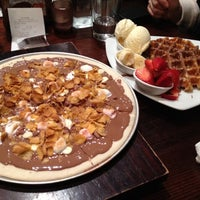 Photo taken at Max Brenner Chocolate Bar by Mei Li K. on 8/18/2012