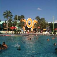 Photo taken at Disney's Pop Century Resort by Cathy W. on 7/29/2012