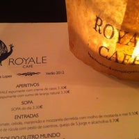 Photo taken at Royale Cafe by Catarina V. on 8/17/2012
