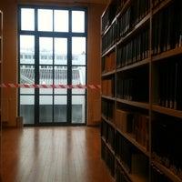 Photo taken at Université Saint-Louis by Maud D. on 3/7/2012