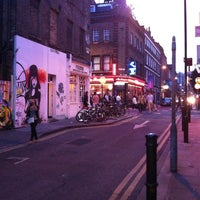 Photo taken at Brick Lane by Robin D. on 7/21/2012