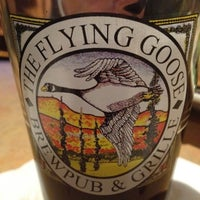 Photo taken at Flying Goose Brew Pub & Grille by Tyler E. on 4/5/2012