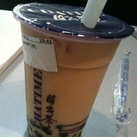 Photo taken at ChaTime (曰出茶太) by Jlbert S. on 5/8/2012