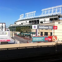 Photo taken at CTA - Addison by Phil on 9/10/2012