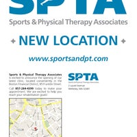 Photo taken at Sports & Physical Therapy Associates by Sports & Physical Therapy Associates on 7/25/2012
