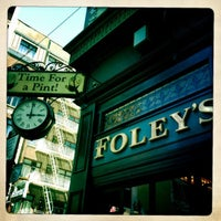 Photo taken at Johnny Foley's Irish House by Dan the Man on 7/19/2012