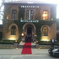 Photo taken at Brasserie Bijgaarden by Seba B. on 3/31/2012