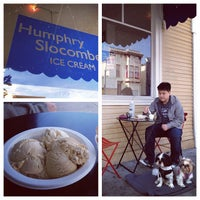 Photo taken at Humphry Slocombe by Annie L. on 2/12/2012