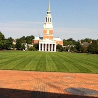 Photo taken at Wake Forest University by Greg A. on 8/21/2012