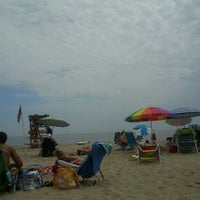 Photo taken at Belmar Beach by Amy P. on 6/10/2012