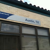Photo taken at Austin Train Station - Amtrak (AUS) by Hollin L. on 6/7/2012