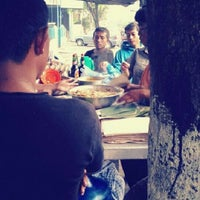 Photo taken at Mie Balap Seafood by Weny A. on 4/6/2012