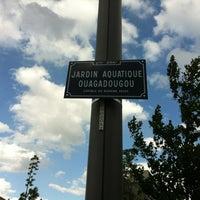 Photo taken at Jardin Aquatique Ouagadougou by Edouard G. on 5/15/2012