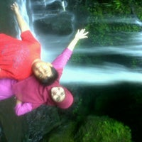 Photo taken at @Air Terjun Guci by Nafilah S. on 6/17/2012