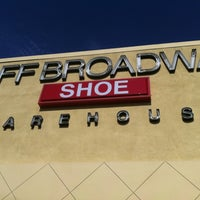 Photo taken at Off Broadway Shoe Warehouse by Berto M. on 8/4/2012
