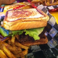 Photo taken at Surf Burger by Andrew G. on 8/30/2012