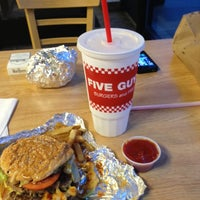 Photo taken at Five Guys by Ammar A. on 8/14/2012