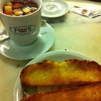 Photo taken at Fran's Café by Priscilla F. on 3/21/2012