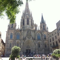 Photo taken at Cathedral of Saint Eulalia of Barcelona by Mario L. on 7/25/2012