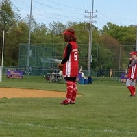 Photo taken at Monroe Twp. Softball Complex by Bob I. on 4/28/2012
