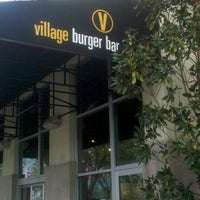 Photo taken at Village Burger Bar by Kathy C. on 3/15/2012
