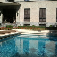 Photo taken at Villa Necchi Campiglio by Irene C. on 7/29/2012