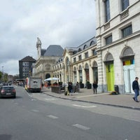 Photo taken at Gare de Namur by Maxime C. on 4/23/2012