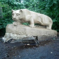 Photo taken at Nittany Lion Shrine by Stacey H. on 9/8/2012