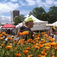 Photo taken at University District Farmers Market by Katie D. on 6/2/2012