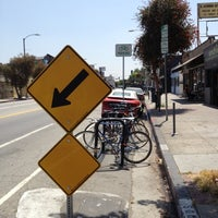 Photo taken at York Blvd. and Ave. 50 Bike Corral by JoJo P. on 5/23/2012