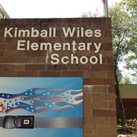 Photo taken at Kimball Wiles Elementary School by Areliis R. on 7/9/2012