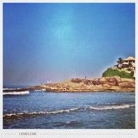 Photo taken at Praia do Sonho by Valéria M. on 7/2/2012