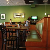 Photo taken at Crispers Fresh Salads, Soups and Sandwiches by Beau C. on 6/19/2012